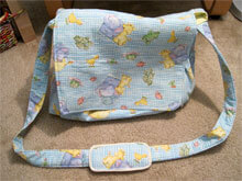 This comprehensive checklist is designed to take the hassle out of packing your nappy bag and help you be prepared for (almost) any eventuality. Image: Ellen Kabellen (ellenkabellen) on Flickr