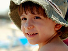 Boy with hat. Image: the half-blood prince on Flickr