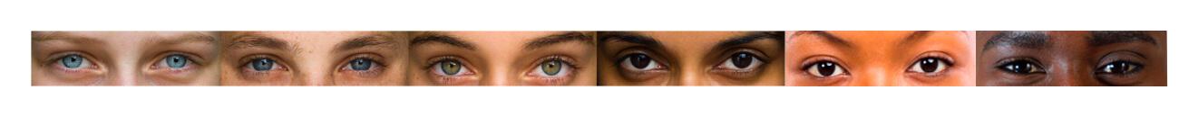 Six skin type eyes long