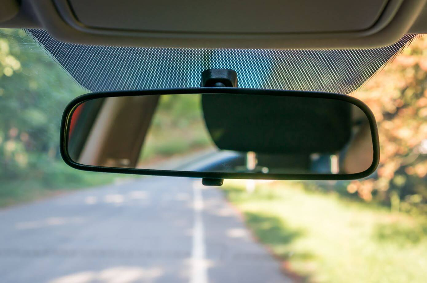 Rearview mirror small