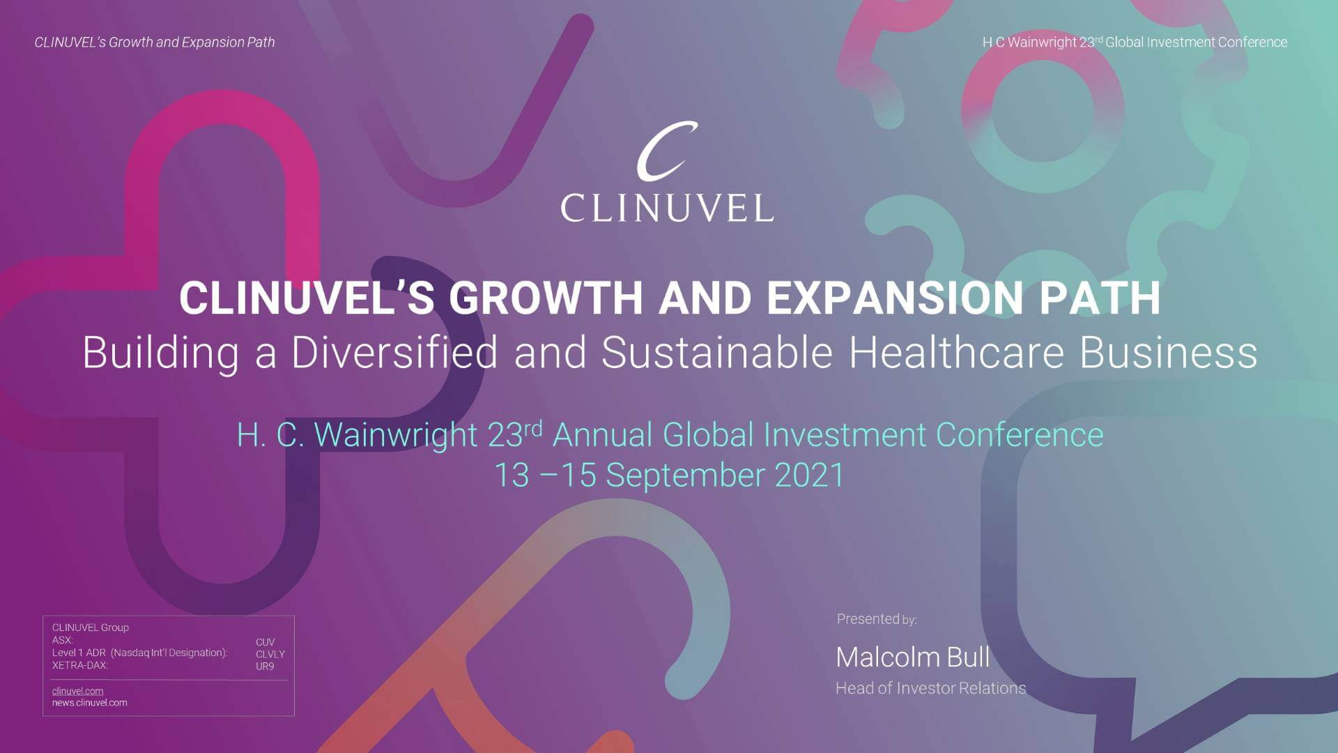 H. C. Wainwright 23rd Annual Global Investment Conference - 1